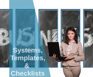Small Business Systems, templates and checklists