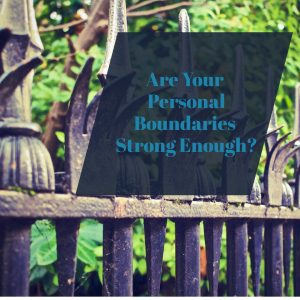 Personal boundaries fence