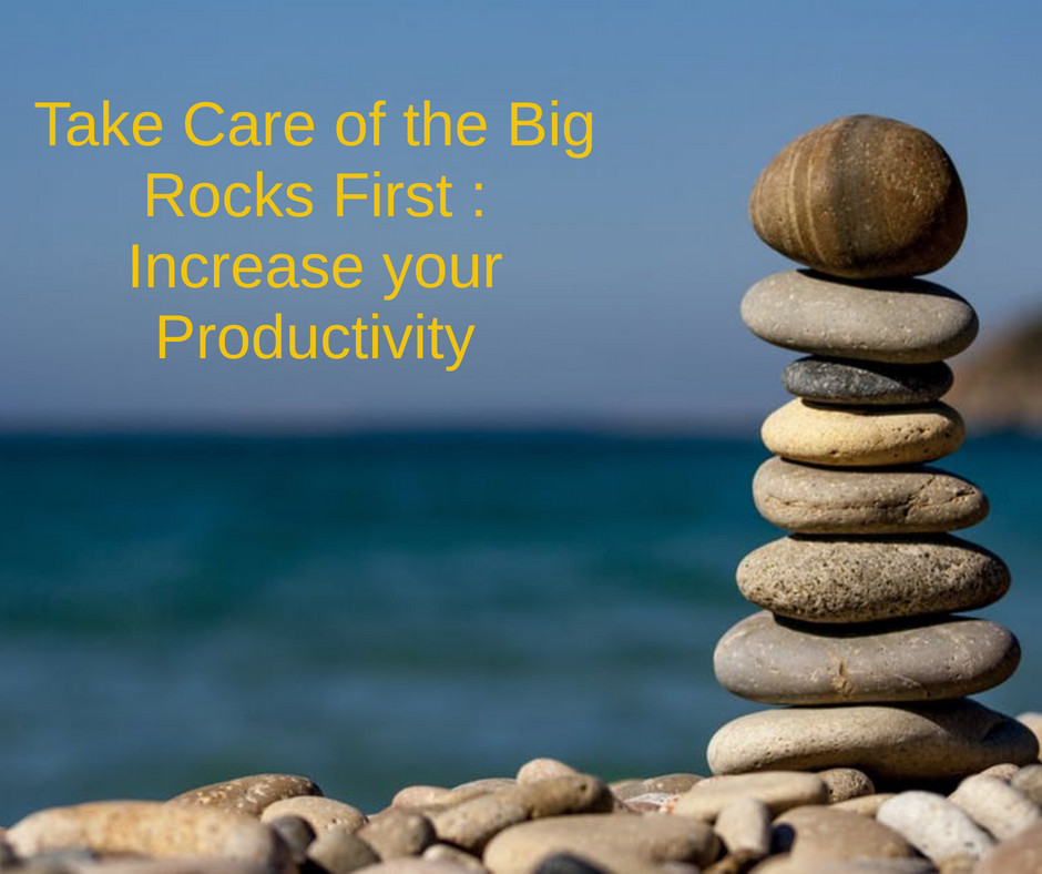 Take Care of the Big Rocks First : Increase your productivity