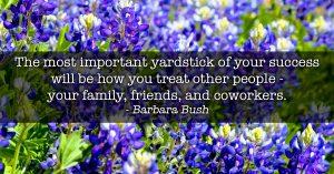 Most important yardstick - gratitude